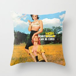 Cured Throw Pillow