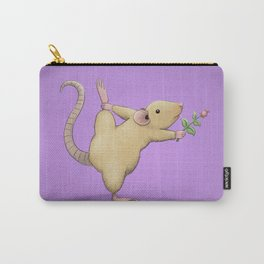 Yoga Rat, Day 5 Carry-All Pouch