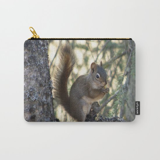 Soldotna Red Squirrel Carry-All Pouch
