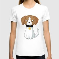 beagle T-shirts featuring Beagle by Freeminds