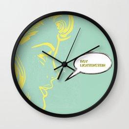 POP ART Wall Clock