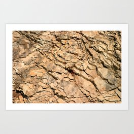 Rock Wall Art Print