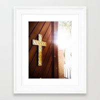 faith Framed Art Prints featuring Faith by Mauricio Santana