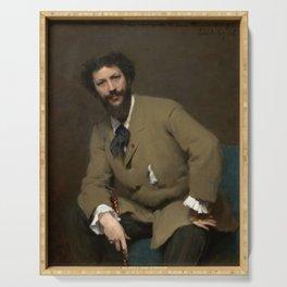 John Singer Sargent - Portrait of Carolus-Duran Serving Tray