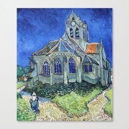 The Church at Auvers Vincent Van Gogh Canvas Print