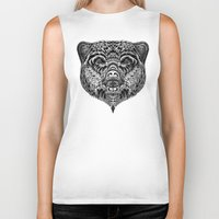 "ethnic Biker Tanks featuring ""Ethnic Bear"" by beart24"