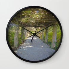 Perfect pathway Wall Clock