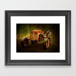 Ferguson Waiting on LaGest ~ Tractor ~ Ginkelmier Inspired Framed Art Print