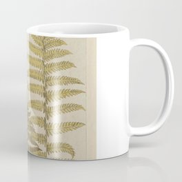 Vintage Fern Botanical Coffee Mug