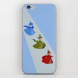 3 Fairies (Blue)  iPhone Skin