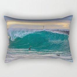 Big Morning at the Wedge Rectangular Pillow