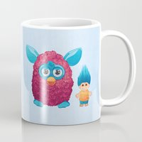90s Mugs featuring Sweet 90s by Ana Makes Art