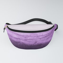 Amethyst Watercolor Crush Fanny Pack