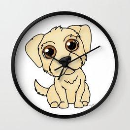 Golden Retreiver Dog Wall Clock