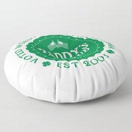 Paddy's Irish Pub Floor Pillow