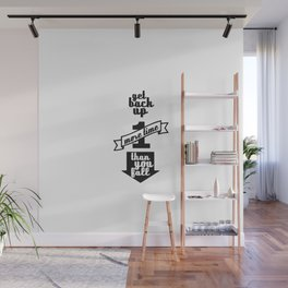 Get Back Up Wall Mural