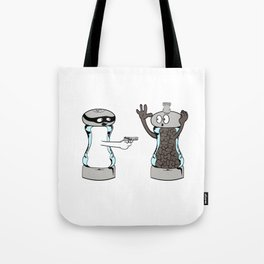 """Cute T-shirt Design Saying """"A Salt with a Deadly Weapon"""" Great Gift For Cooks And Chef Or Cook Lover Tote Bag"""