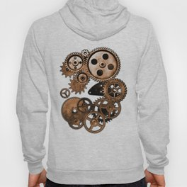 Steam Punk Gears Hoody
