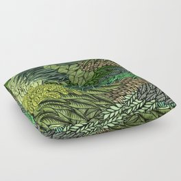 Leaf Cluster Floor Pillow