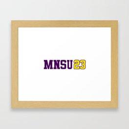 Minnesota State Class of 2023 Framed Art Print