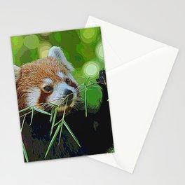 AnimalPaint_RedPanda_20171201 Stationery Cards
