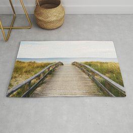 Path to the Beach (Color) Rug