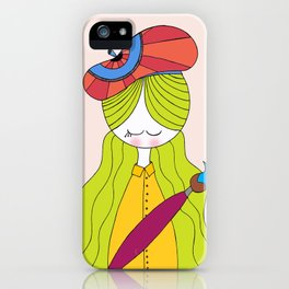 Paint Girl iPhone Case
