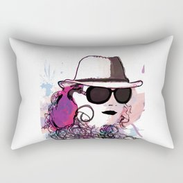 benny abstract Rectangular Pillow
