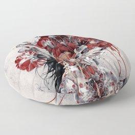 Queen of Skull II Floor Pillow
