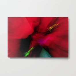 Abstract I'm Friends With The Monster That's Under My Bed Metal Print