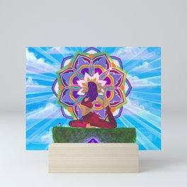 Eka Pada Rajakapotasana Mini Art Print