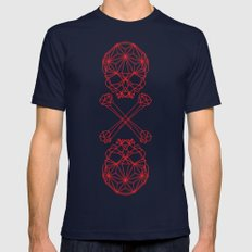 RedSkull Mens Fitted Tee Navy LARGE