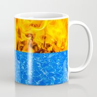 fifth element Mugs featuring The Fifth Is Out There or Inside by digital2real