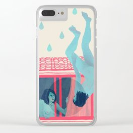 Rain Clear iPhone Case