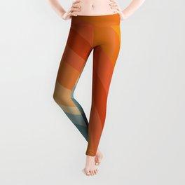 Retro 70s Color-Palette 1 Leggings