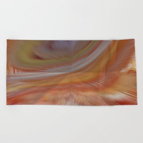Abstract 275 Beach Towel