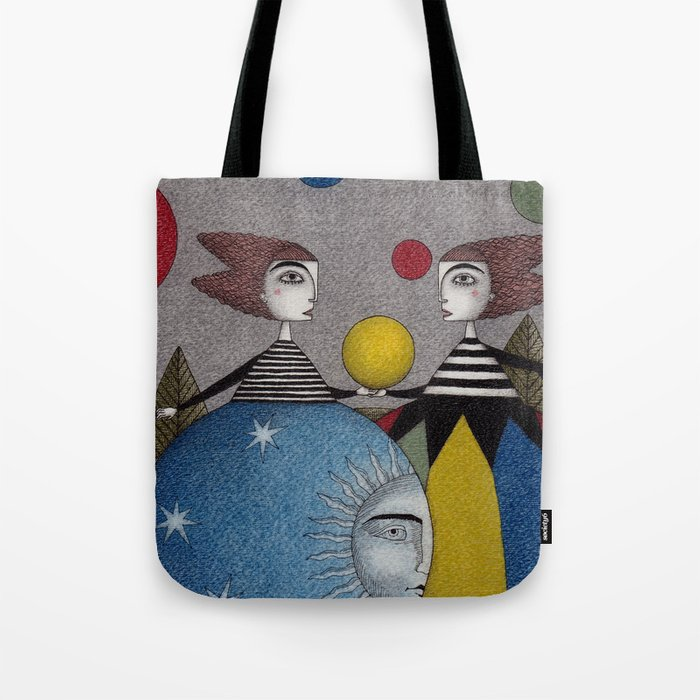 Ball Game Tote Bag
