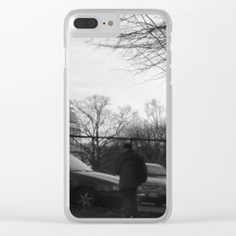 The Divide Clear iPhone Case