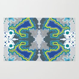 Glacial Kaleidoscope Rug
