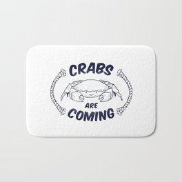 Crabs are Coming Bath Mat