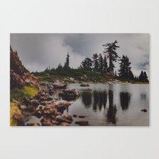 Rocky Pond Canvas Print