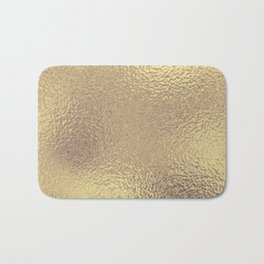 Simply Metallic in Antique Gold Bath Mat