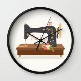 Sew Crafty Wall Clock