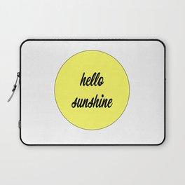 Hello Sunshine Laptop Sleeve