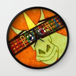 Happy Birthday Unicorn Wall Clock