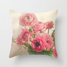 Pinkalicious! Throw Pillow