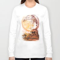 philosophy Long Sleeve T-shirts featuring Philosophy by Cycoblast Artwork