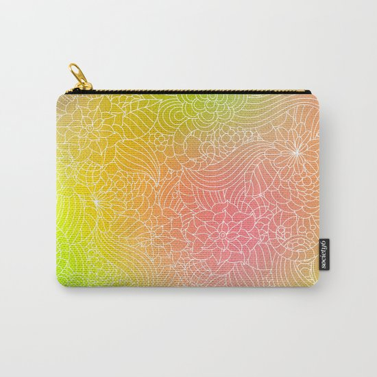Romantic floral fantasy Carry-All Pouch