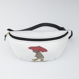 Playing in the Rain Fanny Pack