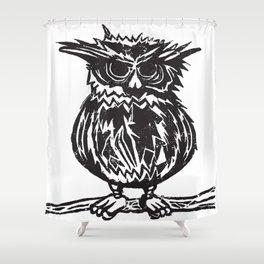 Linowl Shower Curtain